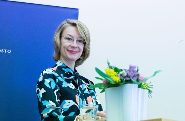 Ministeri Tytti Tuppurainen totesi maanantaina, että Navalnyin tilannetta seurataan tarkkaan EU:ssa.