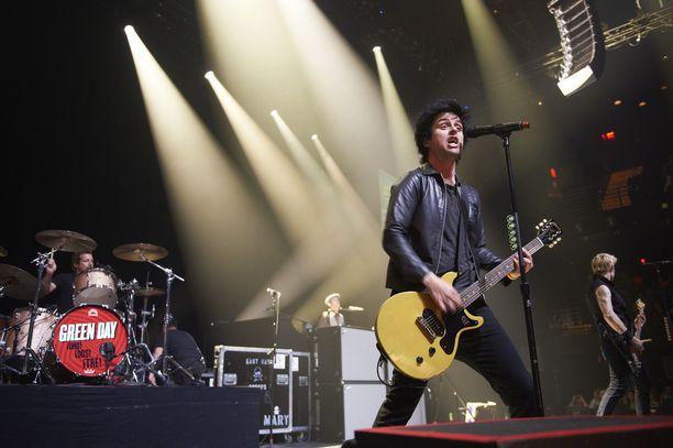 Green Day esiintyi South by Southwest -festivaalissa vuonna 2013.