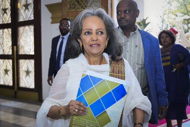 Sahle-Work Zewde työskenteli ennen presidenttiyttään YK:ssa.