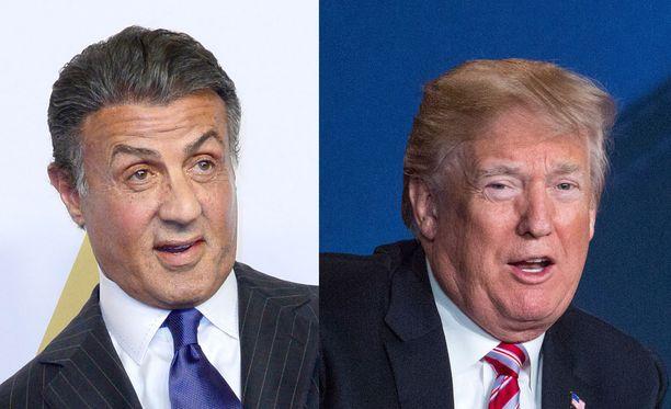 Sylvester Stallone kertoi Jack Johnsonin tarinan Donald Trumpille.