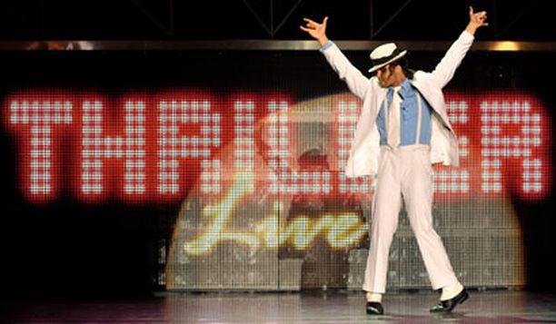 Spektaakkelissä käydään läpi legendan koko ura Jackson 5 -ajoista lähtien.