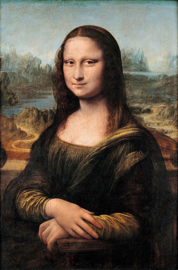 Mona Lisa on maailman tunnetuin maalaus.