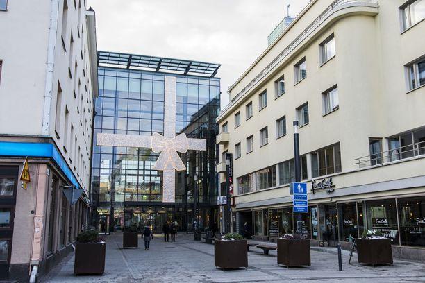 Kauppakeskus Valkea sijaitsee Oulun keskustassa. Poliisi on varautunut lisäpartioin vartioimaan sitä viikonlopun aikana.