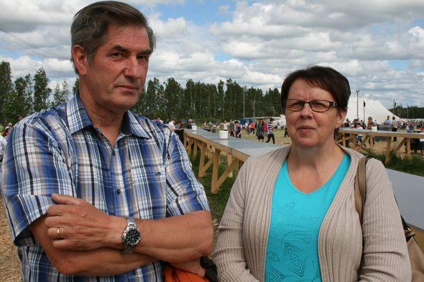 Pekka Mäkipää ja Aino Mäkipää.