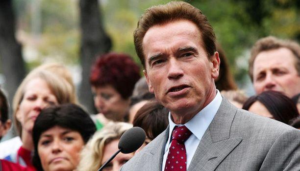 Kalifornian kuvernööri Arnold Schwarzenegger on ympäristötietoinen.
