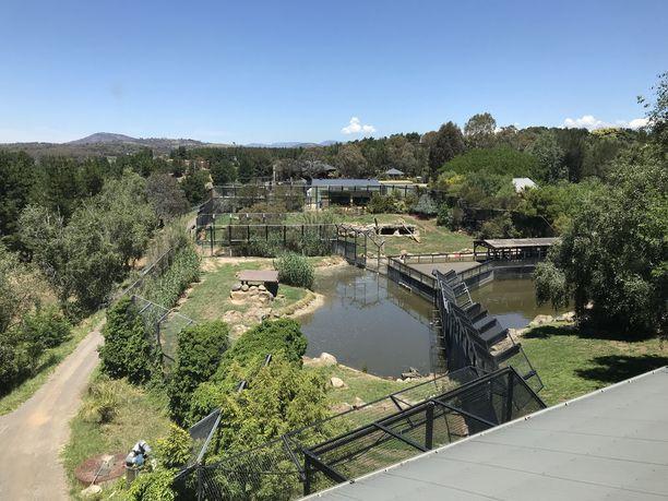 Jamala Zoon alue on laaja.