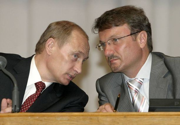 Sperbankin johtaja Herman Gref on toiminut muun muassa Venäjän federaation talouskehityksen ministerinä. Nykyään hänkin on Teslan omistaja.