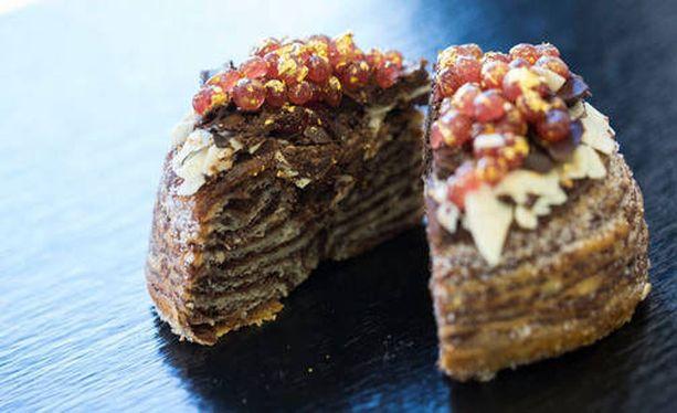 Juuri nyt muodikkaat cronut-leivokset yhdistelevät kroissanttia ja donitsia.