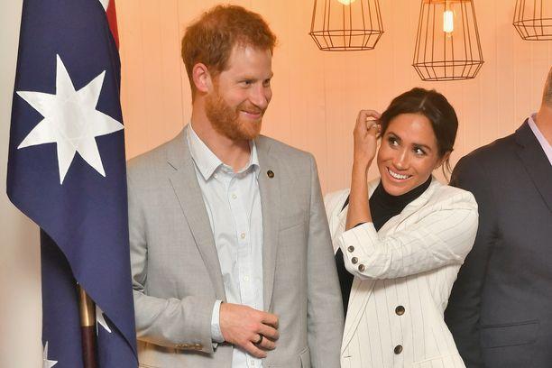 Prinssi Harry ja Meghan odottavat ensimmäistä lastaan, jonka on kerrottu syntyvän ensi keväänä.