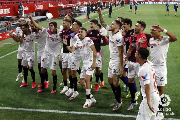 Juhliiko Sevilla tänään?
