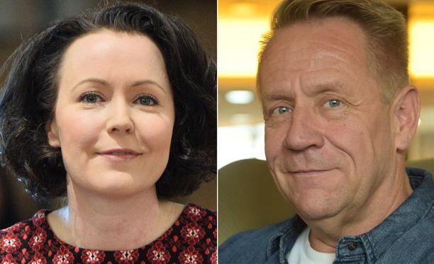 Jenni Haukion ja Olli Lindholmin juuret ovat Porissa.