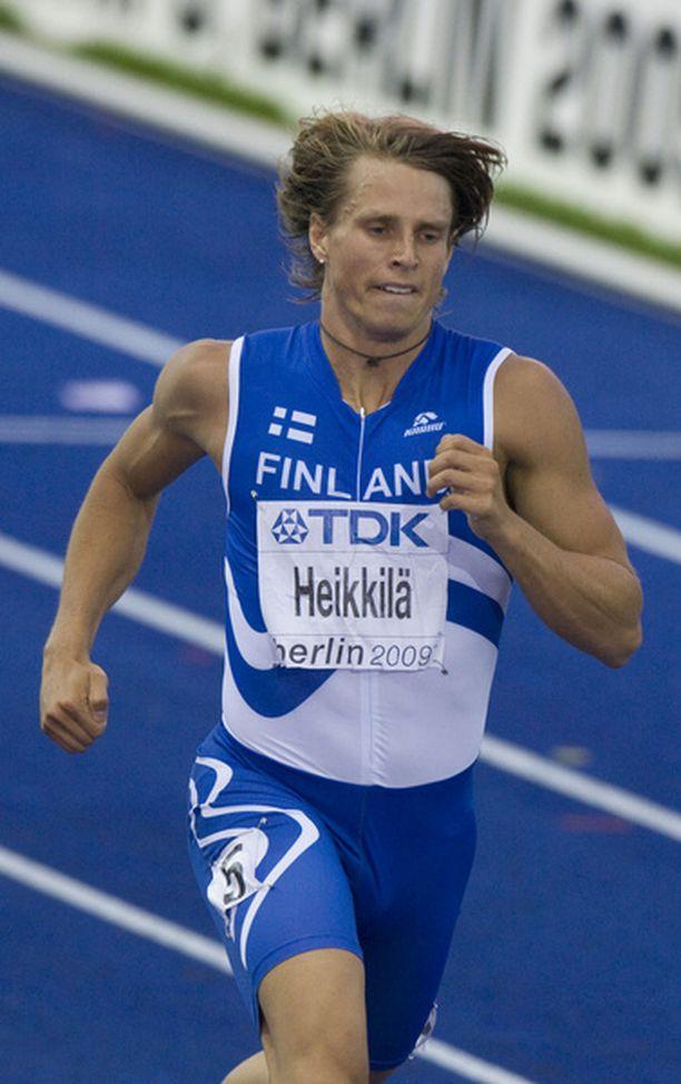 Jussi Heikkilän juoksu ei riittänyt jatkoon.
