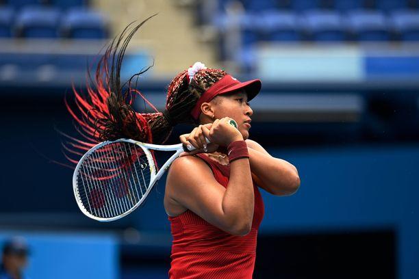 Naomi Osaka putosi Tokion tennisturnauksessa jatkosta.