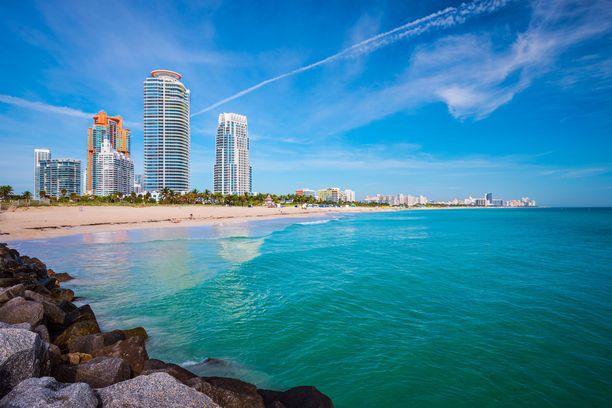 Ranta- ja kaupunkiloman yhdistäminen onnistuu mainiosti Miamissa.