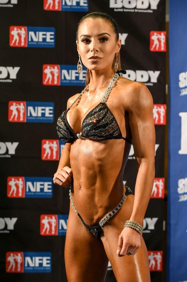Sofia Belórf on muokannut kehoaan fitness-urheilun kautta.
