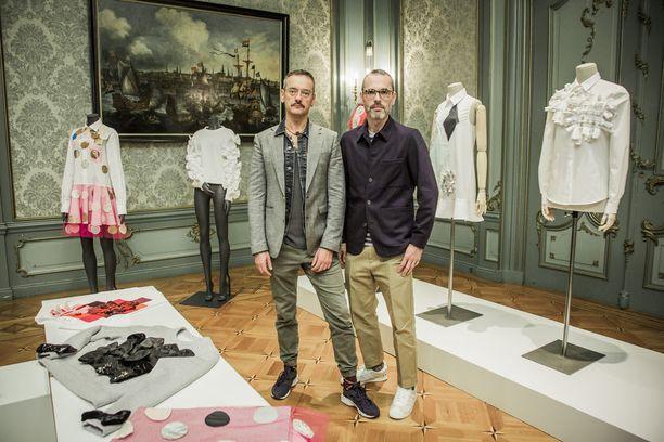 Viktor & Rolfin suunnittelivat kierrätysmalliston Zalandolle.