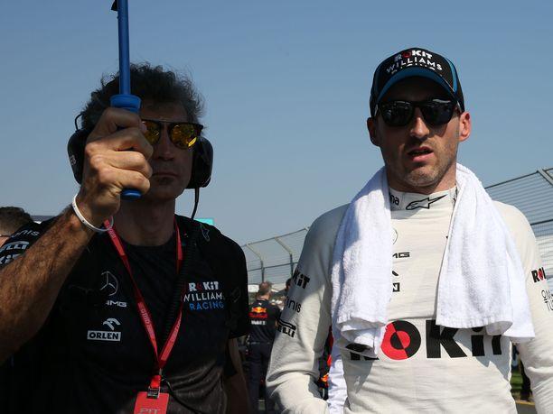Robert Kubican F1-paluu tuotti Australiassa 17. sijan. Eroa kärkeen tuli kuitenkin yli kolme kierrosta.