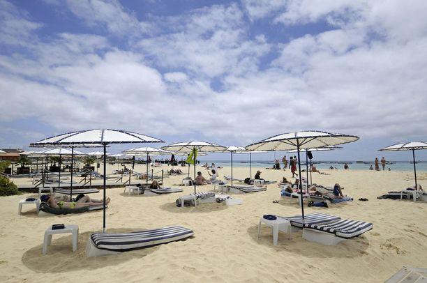 Kap Verden Sal on suosittu lomasaari.