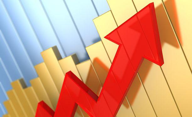 Ekonomistien mukaan pörssit jatkavat nousuaan, mutta päättyvää vuotta maltillisemmin.