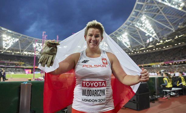 Anita Wlodarczyk oli jälleen ykkönen.