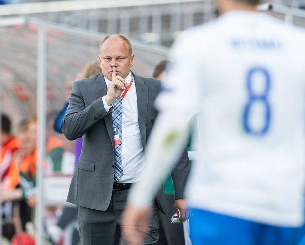 Mixu Paatelainen ei luottanut Sadikiin maajoukkueessa.