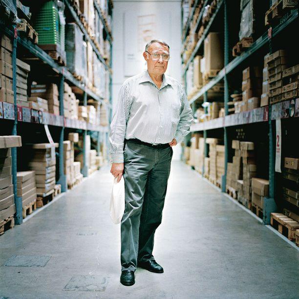 Ruotsalainen Ingvar Kamprad perusti Ikean ollessaan vain 17-vuotias.