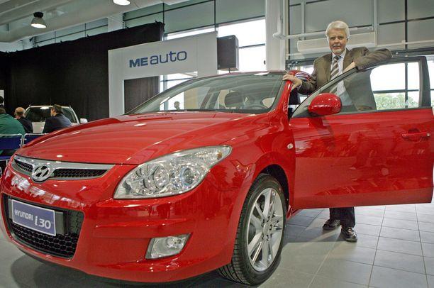 Mikko Ennevaara oli tuomassa Hyundaita Suomeen 2000-luvun alussa.