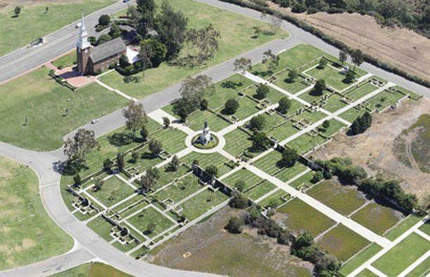 Michael Jacksonin viimeinen leposija löytyy Forest Lawnin hautausmaalta.