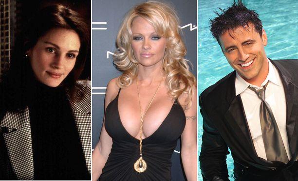 Julia Roberts, Pamela Anderson ja Matt LeBlanc ovat syntyneet vuonna 1967.