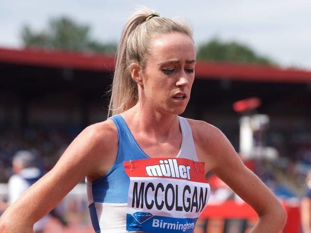Eilish McColganin kotiin murtauduttiin Manchesterissa, kun nainen oli Tukholmassa juoksemassa.