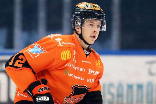 Kim Strömberg oli tällä kaudella erinomaisessa vireessä.