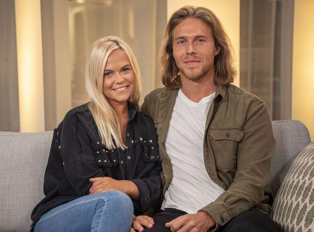 Sofia ja Eetu löysivät rakkauden ohjelmassa.