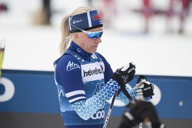 Anne Kyllönen oli kuudestoista Tourin toisella etapilla.