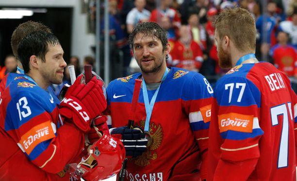 Aleksandr Ovetshkin on ollut perinteisesti erittäin innokas edustamaan maataan arvokisoissa.