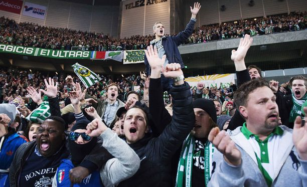Hammarbyn fanit juhlivat sunnuntaina, kun paluu Allsvenskaniin varmistui.