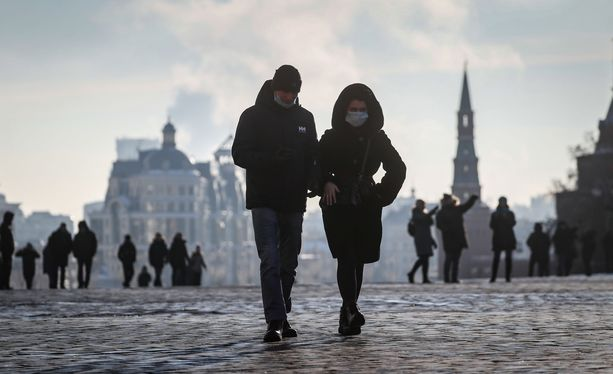 Venäjän terveysviranomaiset ovat raportoineet yli kolme miljoona koronavirustartuntaa koko pandemian aikana.