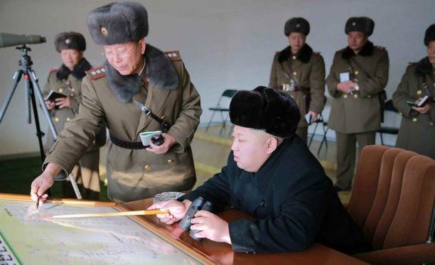Kim Jong-unin hallitsemassa Pohjois-Koreassa kansa on ahtaalla.