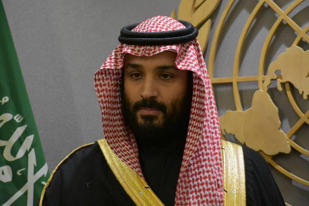 Kruununprinssi Mohammad bin Salman on maailmaa kuohuttaneen henkirikoksen takana, kertoo CIA. Kuva prinssistä on otettu tänä vuonna New Yorkissa.