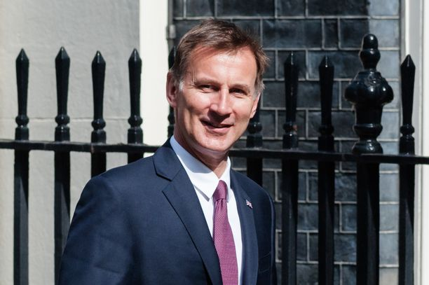 Britannian ulkoministeri Jeremy Hunt sai toiseksi eniten ääniä.