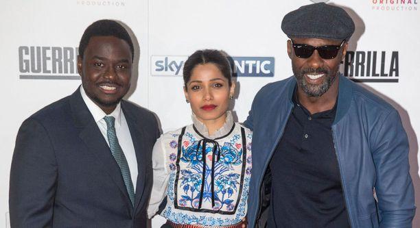 Babou Ceesay esittää Marcusta, Freida Pinto Jas Mitraa ja Idris Elba Kentiä.