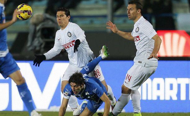 Empolin ja Interin vääntö päättyi maalittomaan.
