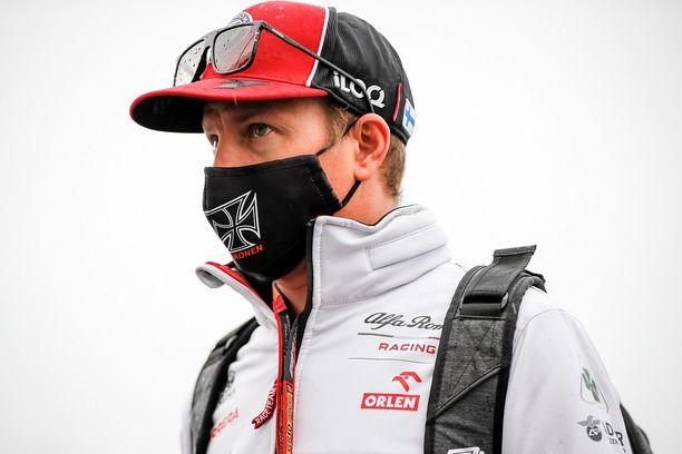 Kimi Räikkönen ajoi Eifelin GP:ssä sijalle 12.