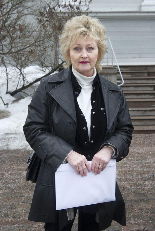 Näyttelijä Liisa Paatso on kuollut. Kuva vuodelta 2010.