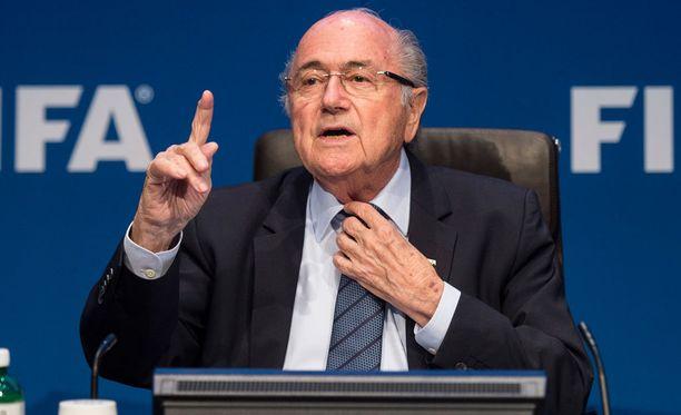 Sepp Blatter ei halua enää lisää joukkueita MM-kisoihin.