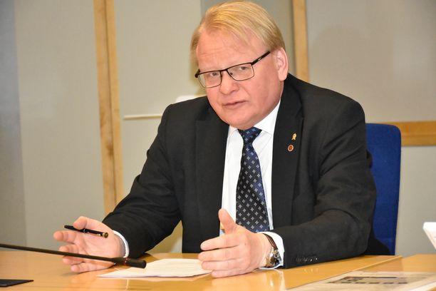 Ruotsin puolustusministeri Peter Hultqvist kertoo Iltalehdelle Tukholmassa, että Ruotsin hallitus ei halua edistää EU-maiden yhteistä puolustusta.