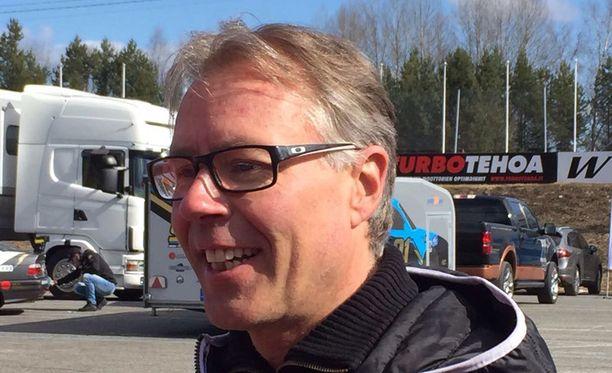 Jyrki Järvilehto loukkaantui SM-kartingissa Vantaalla.