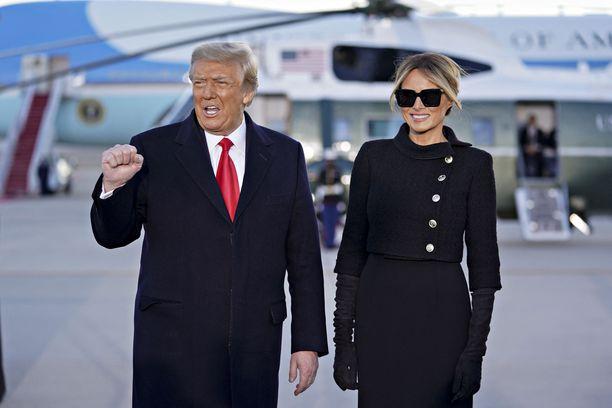 Donald ja Melania Trumpilla on vastakkaiset suunnitelmat tulevaisuuden varalle.