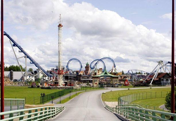 Powerpark-huvipuisto sijaitsee Härmässä, Etelä-Pohjanmaalla.