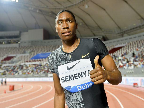 Caster Semenya voitti Dohassa 800 metrin kisan. Miten naisen käy 3000 metrillä?