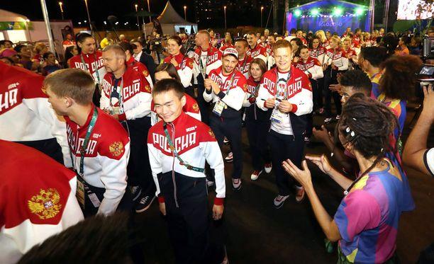 Venäjän maajoukkue on Rion olympialaisissa 271 urheilijan vahvuinen.